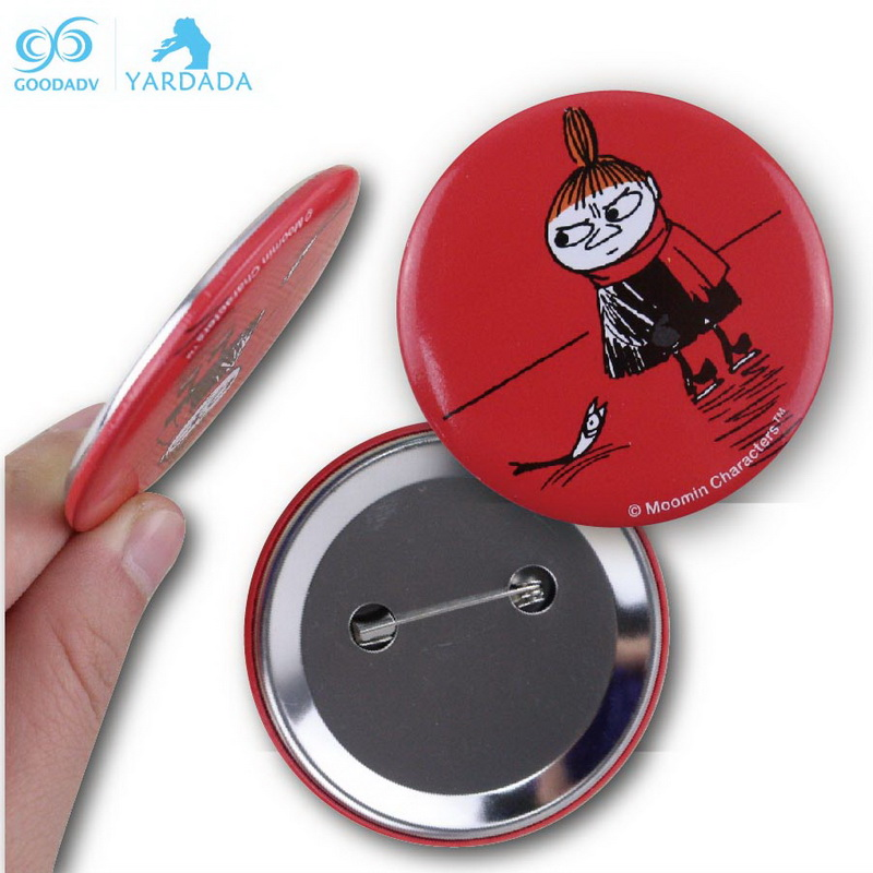 Promotional gifts custom badge metal button badge