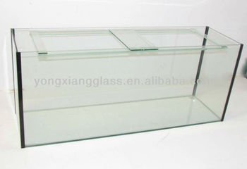custom size large glass marine aquarium