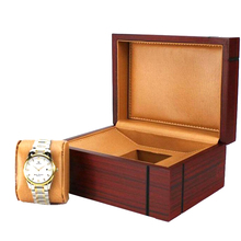 Accept Custom Order High Quality Luxury Rectangle Wood Watch Box