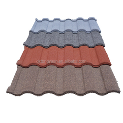 Best Building Materials China Supplier tongyuan Roman Corrugated Lightweight Spanish Metal Sand Coated Roof Tiles Prices
