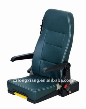 bus tour leader seat with 3 point belt and handle by factory for Ankai Kinglong