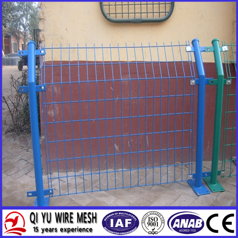 Bilateral Welded Wire Fence ( Galvanized & Plastic Coated ISO 9001)