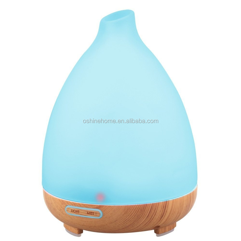 OshineHome Frosted Glass 130ml essential oil diffuser humidifier