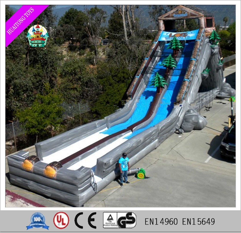 Snowzilla Mobile snow tube inflatable huge slides for sale