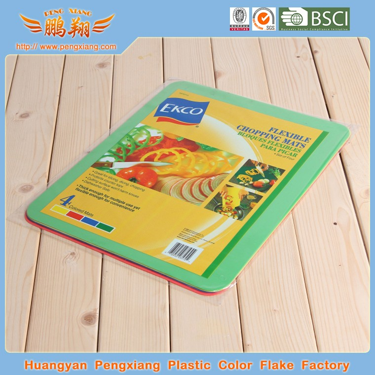 Antibacterial flexible cutting boards