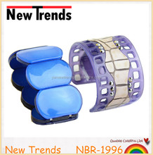 Fashionable design wide acrylic cuff bracelet jewelry 2014