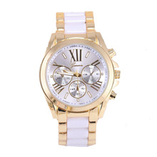Hot selling women geneva watch quartz jewelry watch