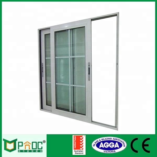 commercial houses aluminum sliding windows and doors with hollow safety glazing cheap price