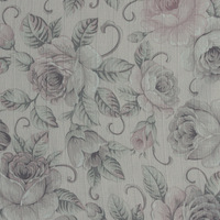 New 100% polyester lining shower curtain fabric flower printed satin fabric price per yard