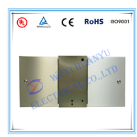 Two locks stainless steel electronic junction box enclosure