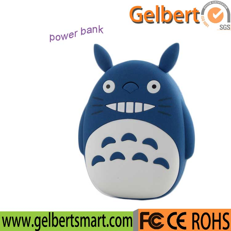 Cartoon Totoro Portable USB Phone Power Bank