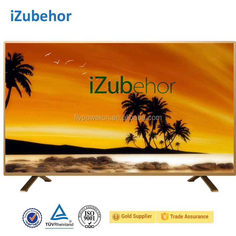 Izubehor 2017 chinese cheap flat screen LCD <strong>TV</strong> 32/ 40/ 42/ 50/ 65 inch 4K LED Android television