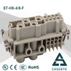 HK series electornic pin female connector types and waterproof motorcycle electrical connector