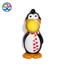 Make OEM design plastic pvc custom vinyl toy with poper ball