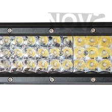 With Stainless Steel Base Mount 3 ROW LED Auto Lights Off Road LEDs