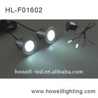 BF01602 NINGBO aluminum small round recessed modern decorative look silver High Quality 2*1W led ceiling light
