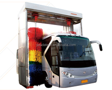 Automatic bus wash, bus washing machine, bus wash system