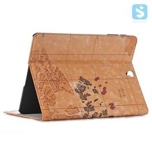 For SAMSUNG Galaxy TAB S3 Top Selling Map Leather Case Cove with card slot