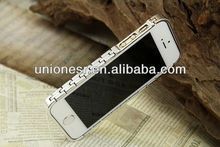 Accept Paypal wholesale screw metal bumper case for iphone 5