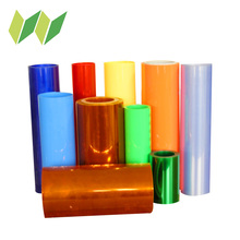 Transparent clear plastic packaging PVC PE film roll
