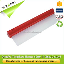 Mini car window squeegee, silicone water blade squeegee