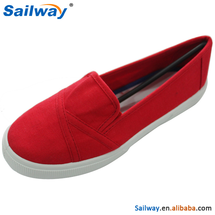 2015 Comfortable flat shoe, red chief women shoes