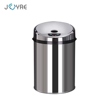 9 liter indoor galvanized cover stainless steel smart infrared sensor cheap recycle bin