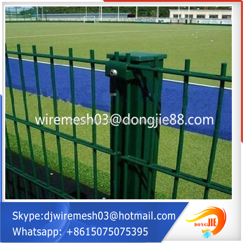 use pvc coated galvanized green vinyl coated chain link fence Easy installation