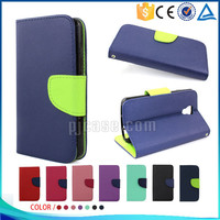 Hot sale Mixed colors pu leather flip cover case for lenovo A66
