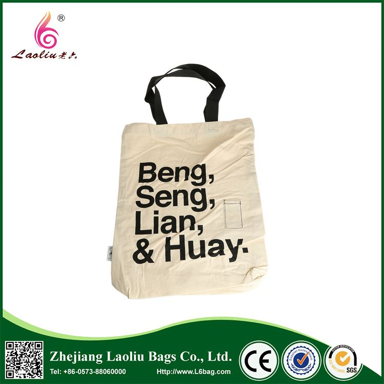 Best selling simple design eco handle shopping bag eco-frendly promotional canvas bag tote bag