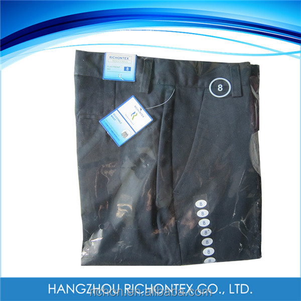 Cotton / Polyester Childrens Uniform Polyester Pants
