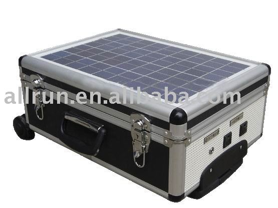 LOW PRICE Portable Solar generator with trolley