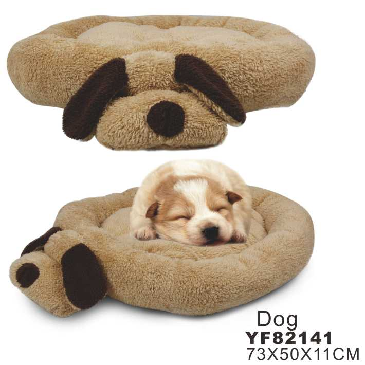 2015 hot sale dog shape bed cushion
