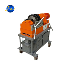 Construction equipment steel rod rebar tapered threading rolling machine price