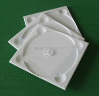 CD case manufacturer milk white cd case single sided cd box 5mm cd tray