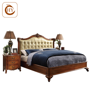Factory Price American Antique Double Bedroom Furniture Sets For