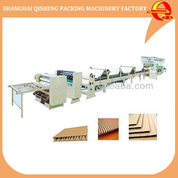3/5/7ply Corrugated cardboard Production line corrugating paperboard making machine