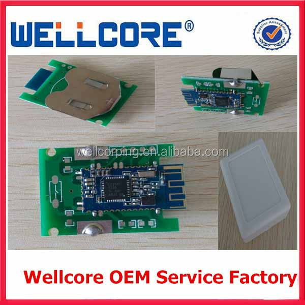 Wellcore Provide IBeacon module/ Solar cell ibeacon /IBeacon Waterproof case/ ibeacon with 2pcs CR2477 battery module and OEM!