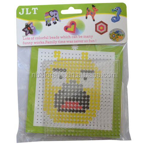 2015 fashion mini iron Perler Beads For kids educational toy