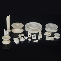 professional mechanical parts 99 alumina textile ceramic