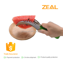 zeal new 2 in 1 Watermelon slicer stainless steel Watermelon Cutter Knife