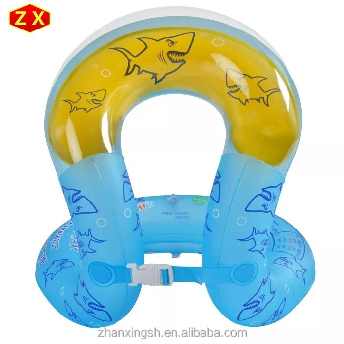 Personalized inflatable life jacket/inflatable swim vest for children