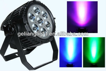 Special and unique CREE LED 7X10W RGBW 4IN1 par light