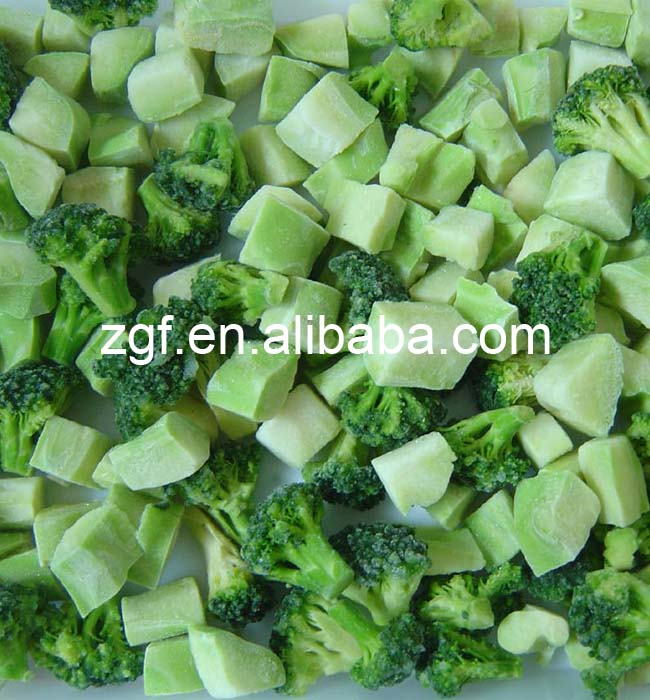 New season high quality IQF frozen broccoli with low price