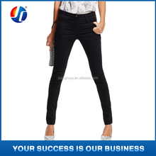latest jeans tops girls super skinny black women jeans/fine tailoring jeans fabric prices
