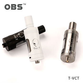 New coming OBStech Top filling Sub Ohm Tank T-VCT with 0.25/0.5ohm BTDC coils in 2015