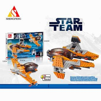 star team blocks building toys for spaceship model