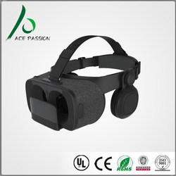 Acepassion vr Headset 3d Viewer Glasses Virtual Reality Google box Version Movies Games Helmet for 4.7-6 inch Phone