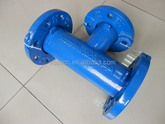 Pn ductile iron pipe fittings all flanged tee buy