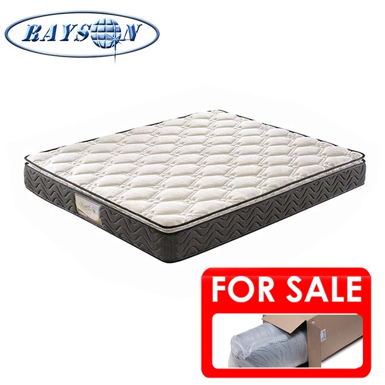 Best Cheap Chinese Rolled Up Double Bed Mattress Foshan Hybrid King Size Double Size Bonnell Spring Units Bounce Mattresses - Jozy Mattress | Jozy.net